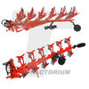 UH 4978 Kuhn Vari-Master 183 Mounted Reversible Plough 1/32