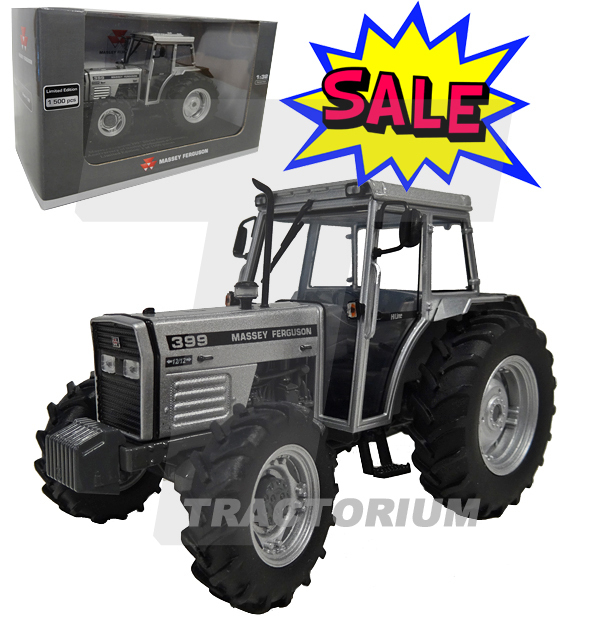 Universal Hobbies 4878 Massey Ferguson 399 Limited Silver Edition 50th  Anniversary Coventry 1/32