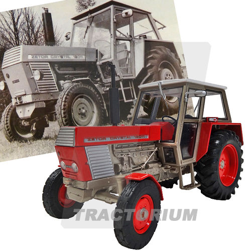 Universal Hobbies 4984 Zetor Crystal 12011 2WD rot 1/32