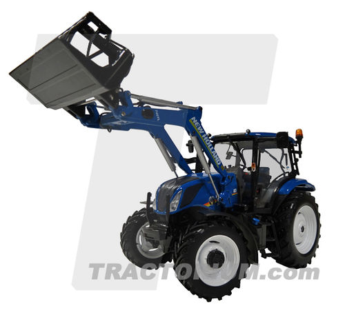 Universal Hobbies 4956 New Holland T6.145 mit Frontlader 740 TL 1/32