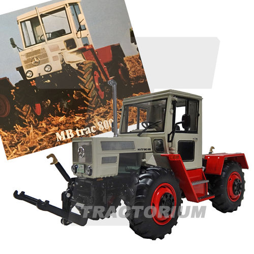 Weise-Toys 1051 Mercedes Benz MB Trac 800 mit Fronthydraulik 1/32