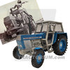 UH 4984 Zetor Crystal 8011 2WD blue 1/32