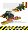 Wiking 7341 Pöttinger Mower Combination Novacat V10 1/32