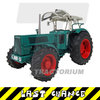 Schuco 450780100 Hanomag Robust 900 with Fritzmeier Top 1/32
