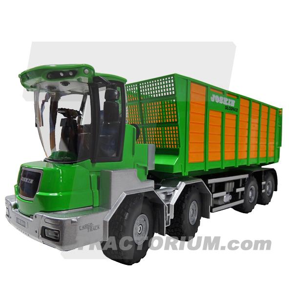 Siku 4064 Joskin Cargo-Track mit Ladewagen 1/32