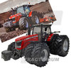Universal Hobbies 5243 Massey Ferguson 8740 Dyna VT New Version with Duals 1/32