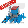 Wiking 037819 Lemken Drill Combination Solitair / Heliodor 1/87