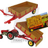 Universal Hobbies 5329 Massey Ferguson 3T Tipping Trailer 1/32