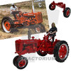 Replicagri 175 Farmall Super C 1953 with female Driver and Row Crop Kit Limited Edition 1/32