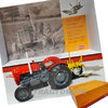 Universal Hobbies 5357 Massey Ferguson 35X Multi Power with Rumpstad Plough Limited Edition 1/32
