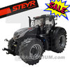 MarGe Models 1817 Steyr 6300 Terrus CVT Limited Black-Silver Edition with Trelleborg Tyres 1/32