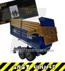 Britains 43219 Kane Silage Trailer M 625 Limited 50th Anniversary Edition Blue Metallic / Gold 1/32