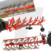 Universal Hobbies 5355 Kuhn Vari-Master 183 Mounted Reversible Plough New Edition 1/32