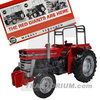 Universal Hobbies 5370 Massey Ferguson 135 Super with Safety Frame Limited Edition 1/32