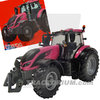 Britains 43247 Valtra T 254 V Pink Set with Double Bale Lifter 1/32