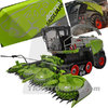 MarGe Models 2013 Claas Jaguar Terra Trac 40.000. mit Claas Orbis 750 Limited Edition 1/32