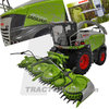 2W MarGe Models 02530900 Claas Jaguar 980 40.000. Radversion m. Claas Orbis 750 Limited Edition 1/32