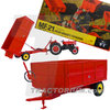 Universal Hobbies 6242 Massey Ferguson MF 21 3,5t Tipping Trailer high sided 1/32