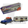 Siku 2532 Opel Frontera with Boat and Caravan 1/55