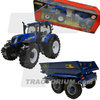 Britains 43268 New Holland T6.175 with NC Power Tilt 314 Trailer 1/32