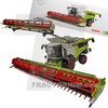 MarGe Models 02531990 Claas Lexion 8800 Radversion mit Convio 1380 Limited Edition 1/32